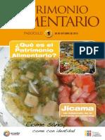 Patrimonio Alimentario nro. 1, Ecuador.