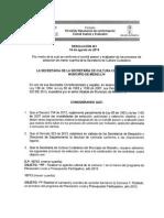 Resolucion de Conformacion de Comite