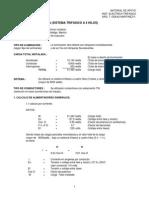 Cálculo de Instalación Eléctrica