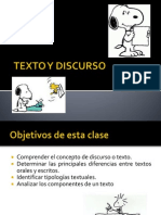 4 to Tex to Discurso