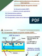 Lecci%F3n 18- Transistor IGBT