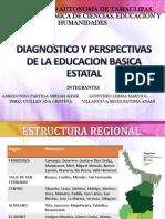 Diagnostico y Perspectivas de La Educacion Basica Estatal Presentacion