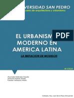 Urbanismo Moderno en America Latina