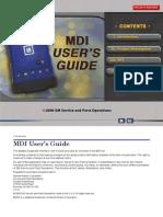 MDI GM Users Manual