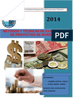 Tecnica y Evaluacion de Pip Practica 4 de Finanzas