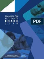 Manual Estudante Enade 2014
