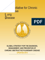 GOLD Global Strategy for Diagnosis, Management, And Prevention of COPD 2014