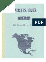 Scenario Spirits Over Arkham