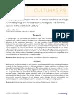Diaz Duarte, L.antropología y Psicoanálisis- Retos de Las Ciencias Románticas en El s XXI