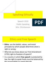 1 4  speaking ethically
