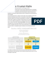 Teste Nao Parametrico Kruskal-Wallis