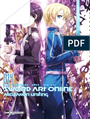Sword Art Online 14 - Alicization Uniting (ENGLISH) | Sword