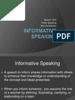 1 12  informative speaking
