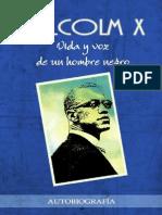 X, Malcolm - Vida y Voz de Un Hombre Negro