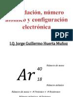 Número Atómico y Configuración Electrónica