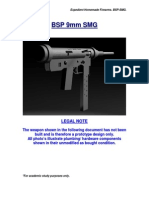 Expedient Homemade Firearms - BSP 9mm SMG - P.a Luty