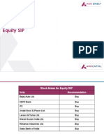 Equity SIP Stock Ideas