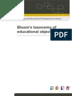 61785758 Bloom s Taxonomy