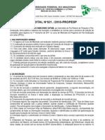 Edital Oficial Letras 2010 2011l