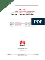 HUAWEI G510-0251 V100R001C212B172 Upgrade Guideline