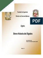 Historia Del Álgebra