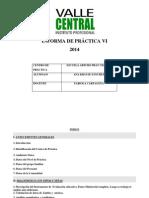 Informa de Práctica Vi 2014