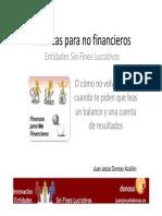 Finanzas No Financieros Entidades Sin Fines Lucrativos