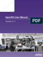 Openrg User Manual Purple