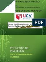 Caso Practico de Un Proyecto de Inversion Luis Miranda