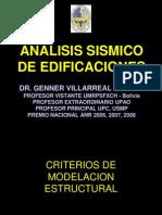 Analisis Sismico de Edificaciones -Dr Genner Villarreal Castro