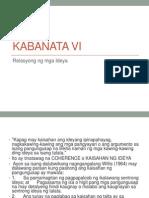 Kabanata VI
