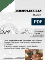 CHAPTER 1 - Macromolecules