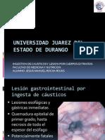 Lesion Caustica y Cuerpos Extraños