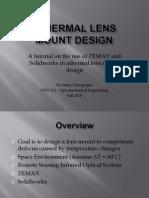 J. Champagne_Athermal Lens Mount Design