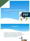 Escuelas de La Administración (Clase 4,5,6 y 7)