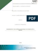 Evidencia de Aprendizaje Unidad II Diseño Orientado a Objetos