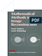 CT Natterer 2007 Mathematical Methods in Image Reconstruction
