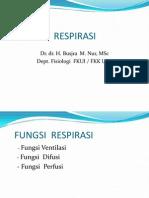Fkumj a Fisiologi Respirasi 2013