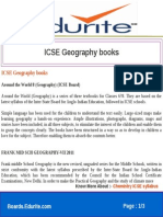 Icse Geography Books