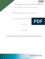 Cuadro Comparativo de las diferentes metodologias