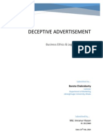 Deceptive Advertisement