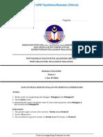 Paper 1 SPM English Language Paper