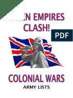When Empires Clash!CWArmyLists