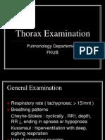 Pemeriksaan fisik thorax