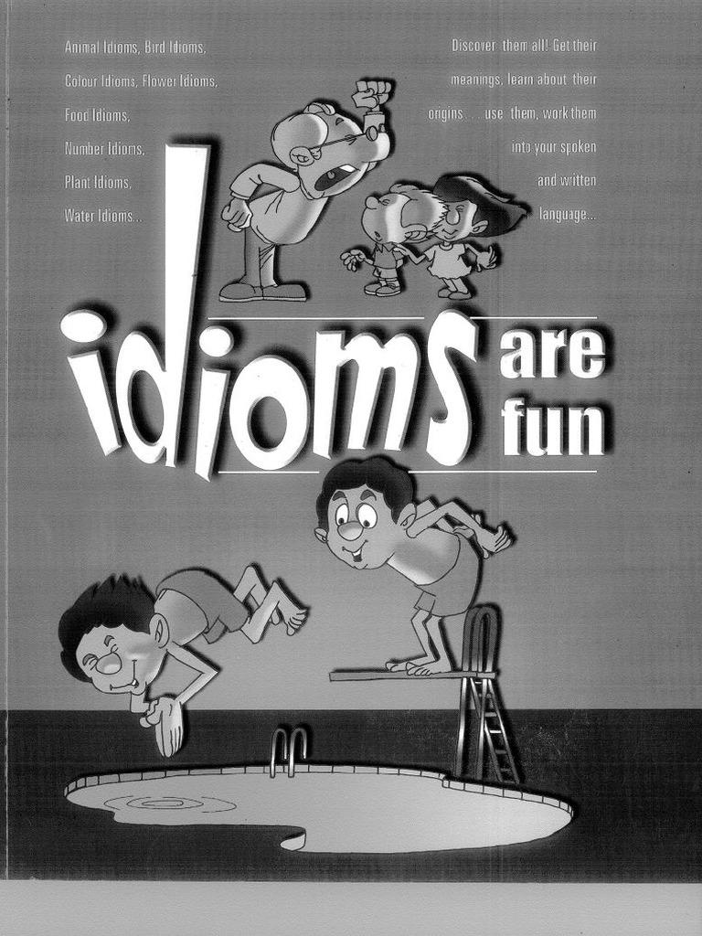 idioms are fun pdf | Chicken | Jealousy