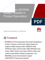 OWB001700 3900 Series WCDMA NodeB V200R014 Product Description ISSUE 1 02