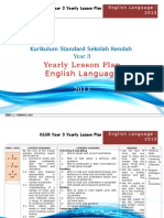 Kssr Year 3 - Yearly Lesson Plan