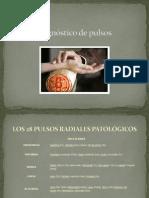 Diagnóstico de Pulsos