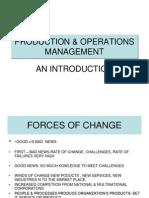 L-1production & Operations Management
