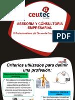 AsesorEl Profesionalismo y La Etica en Consultoria